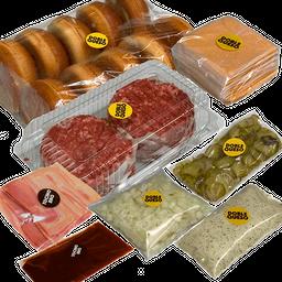 Caja Tocino BBQ