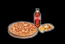 Pizza Familiar + Bebida + Acompañamiento