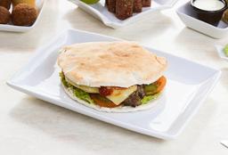 Cheese Burger Pita