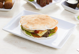 Cheese Burger Pita