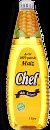 Aceite De Maiz Chef 1 Lt