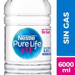 Agua Bidon Pure Life 6 Lt