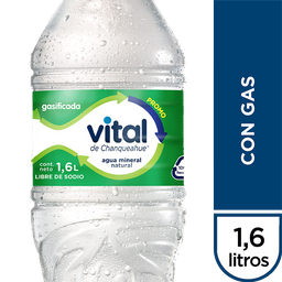 Agua Min Vital Con Gas Desechable1600ml