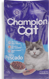 Alim Gato Champion Cat Pescado 1Kg