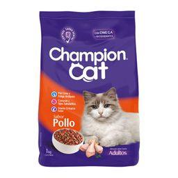 Alim Gato Champion Cat Pollo 1Kg