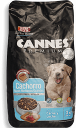 Alimento Cachorros Cannes 3 Kg