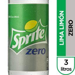 Bebida Sprite Zero Botella 3Lt