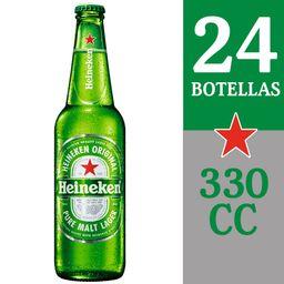 Cerveza Heinekenx24 50G Botella 330cc