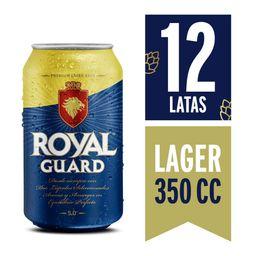 Cerveza Royal Guard 350ml x 12