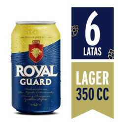 Cerveza Royal Guard