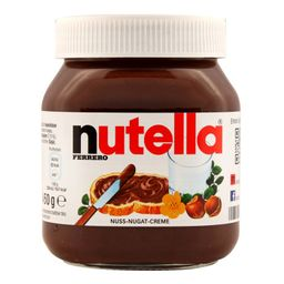 Crema de Avellanas Nutella 450 g