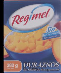 Durazno Regimel en Cubito 380 g