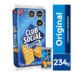 Galleta Club Social Original 234 g