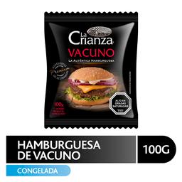 Hamburguesa La Crianza, Vacuno 100 g