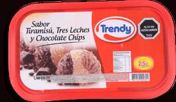 El Roble Helado Trendy Tiramisu Tres Leches Chip S Cocola