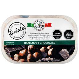Helado Choco/Hazelnuts Italgelato 900Ml