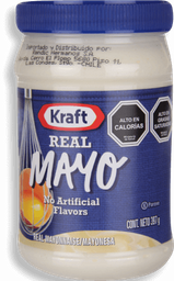 Mayonesa Real Pote 397 g Kraft