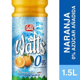 Nectar Watts Light 1,5Lts Naranja