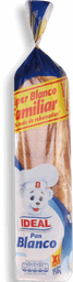 Pan Molde Ideal Blanco 0% Col 750 Gr