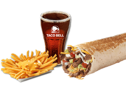 Combo 5 Burrito XL + papas medianas + bebida 220cc