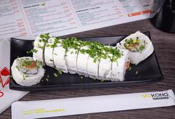Roll Salmon Envuelto Queso Crema