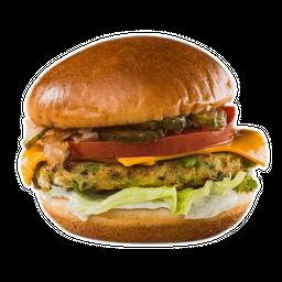 Hamburguesa Vegetariana (Garbanzos)
