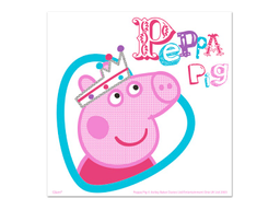 Servilletas Peppa Pig X 12