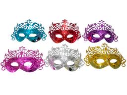 Antifaz Veneciano Carnaval Glitter Colores