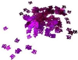 Confetti Metalico Colores 18 Fucsia