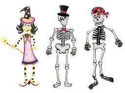 Colgante Halloween 3 Diseños