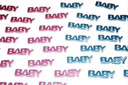 Confetti Premium Baby Shower Letras Niña