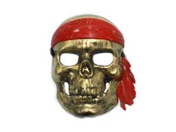 Mascara Pirata Dorado