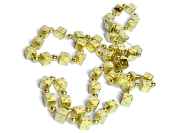 Collar Dados Premium Dorado