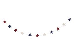 Decoracion Tricolor Estrellas 3M
