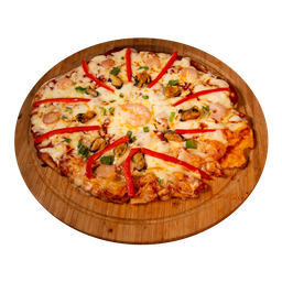 Pizza Familiar Black Island