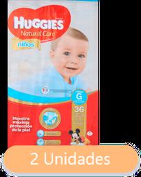 Huggies Infantil Nino.Seman.G X36