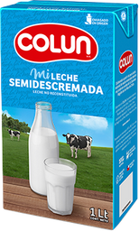 Leche Sin Lactosa Semidescremada Colun 1Lt