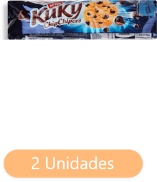 Pack 2 Unidade(s) Galleta McKay Kuky Chips Chocolate 190 g