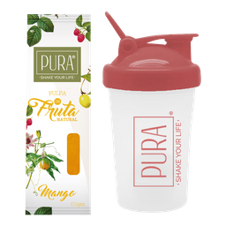 Combo PURA de Mango 100g + Shaker 400 ml