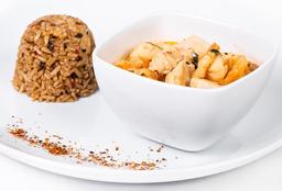 Curry de Pollo y Camarones