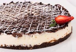 Cheescake de Chocolate Blanco y Negro