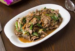 Carne Mongoliana (c/s Ají)