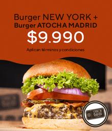 Burger Atocha Madrid + Burger New York