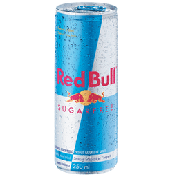 Red Bull Sugar Free 250 cc