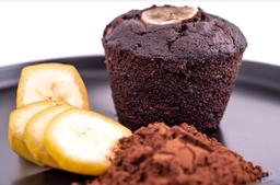 Muffin Vegano Plátano + Cacao