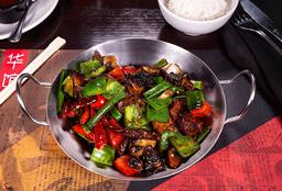 Wok-Charred Beef