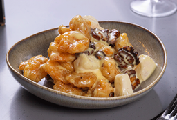 Shrimp with Candied Walnuts