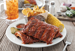 Ribs Chili´s con Papas y Choclo