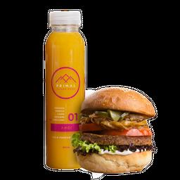 Burger + Jugo 350 ml