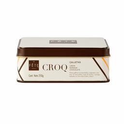Lata Croq! con chocolate 250 Grs